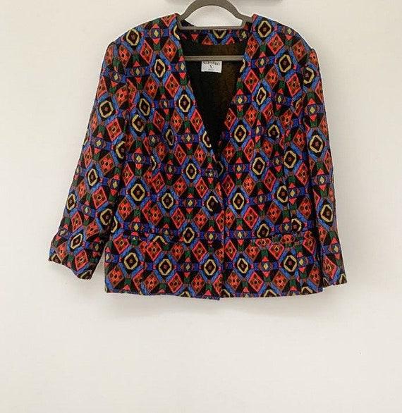 Vintage Valentino printed jacket