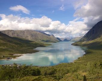 Fine Art Prints // Jotunheimen Lake Panorama // High Quality Prints