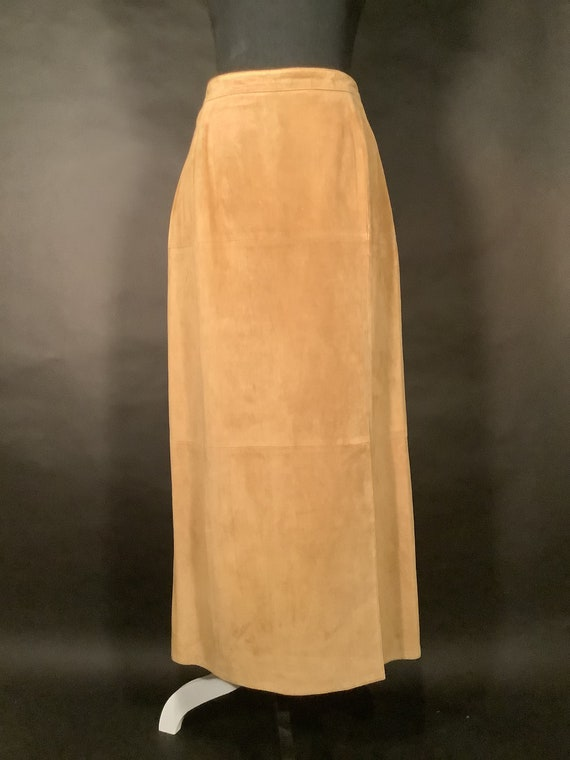 Beautiful Suede Skirt