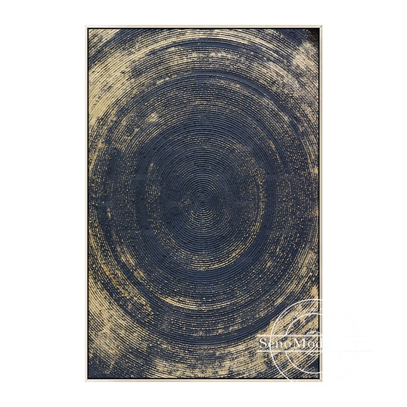 Frame Wall Art Modern Abstract Geometric Gold Black Print Painting on Canvas Extra Large Picture Gold Art Print Printable Wall Art Prints