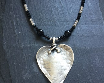 Designer Pendant Handmade Pendant Jewelry AH-17009 Black Onyx Pendant Silver Plated Pendant