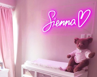 Custom Neon Sign, NEON SIGN, Kid Room Decorations, Home Decor Wall Decor, Custom Name Neon Sign, Personalized Gifts for Baby, Birthday Gift