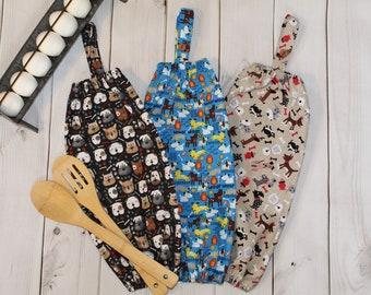 Dog Plastic Bag Holder, Plastic Bag Holder, Grocery Bag Holder, Kitchen Bag Storage