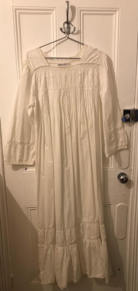 Vintage white Victorian nightgown