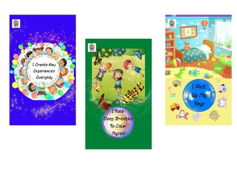 29 Child Affirmation Printable Cards, Positive Self Talk, Learning Cards For Homeschool, School or Home.