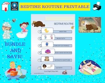 Kids Nighttime Routine Chart
