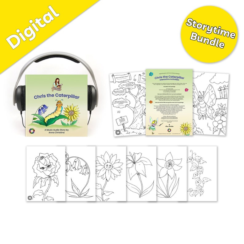 Storytime Bundle  Music audiobook for kids with fairy image 0