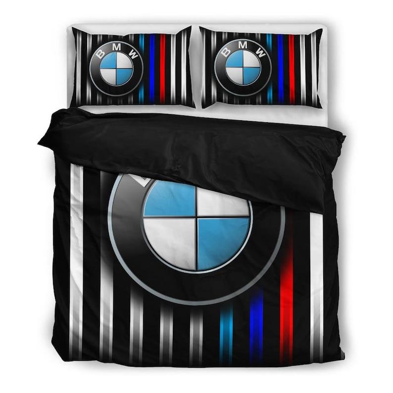 Luxury BMW Duvet Cover King Duvet Cover Duvet Cover Queen Bedding Set Full Duvet Cover Set BMW Car Bed Sets BMW Duvet Cover