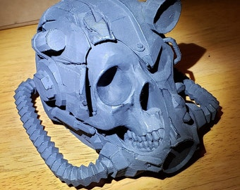 ROBOT CYBERNETIC helmet Cosplay-3D printed decoration gift