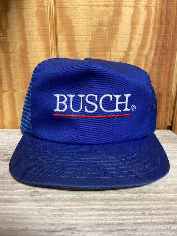 Vintage NASCAR BUSCH Beer Snapback Hat (Adjustable