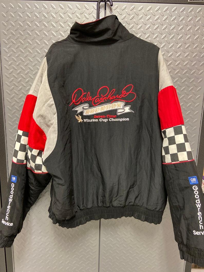 Vintage Nascar MINT 1995 Dale Earnhardt Sr 7 Time Champ Jacket XXL