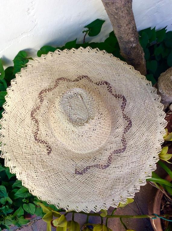 Wide Handmade Straw Bahamas Summer Hat - image 2