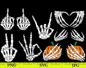 Skeleton Hands Svg, Skeleton Svg, Skull Skeleton Hand, Halloween SVG, Cute Halloween Shirt Svg, Png, Cricut, Silhouette, Skeleton boob hands