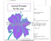 Journal Prompts For A Year