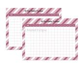 Habit Tracker Printable, Goal Planner Setting, Monthly habits, 30 Day Habit Challenge, Letter, Instant Download