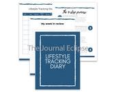Lifestyle Tracker Diary