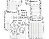 Monthly Money Flower Planner