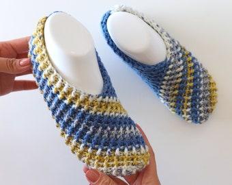 Crochet The Easiest Slippers Ever Written Pattern | Sirin's Crochet | Instant PDF Download