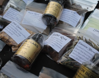 Herb Spell Kit * Herbs for Romance * Love Spell Themed *Wicca* Witchcraft Spell Kit * Pagan * Apothecary * Witchcraft Supplies