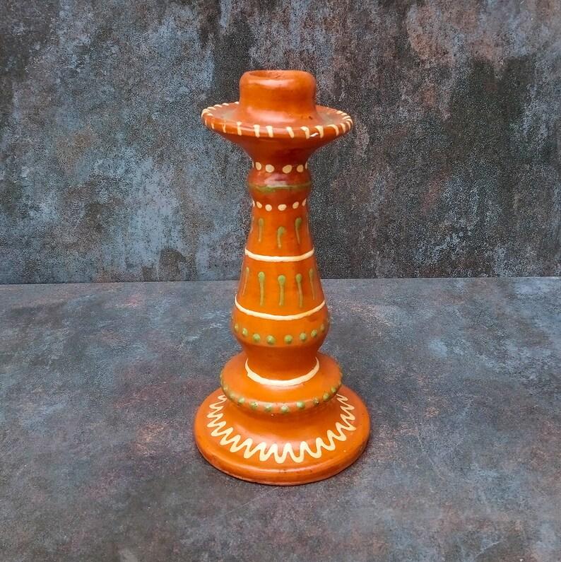 Glazed Ceramic Candleholder,CANDLESTICK HOLDER,handmade candlestick holder,rustic candleholder,ethnic candleholder,ethno ceramics,home decor