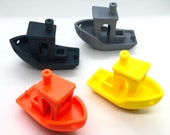 3D Printed Benchy! The Fun Boat!