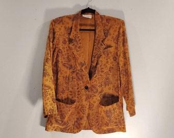 Nell Flowers Women's Jacket