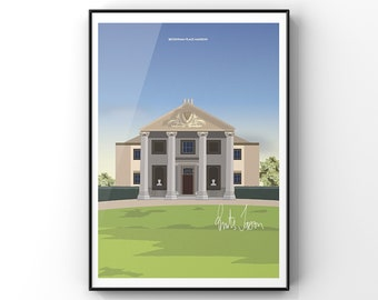 Beckenham Place Park limited edition screenprint /'The Place to be/'
