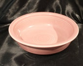 Vtg Fiesta Rose Pink 6 7 8 quot Cereal Bowl, Excellent Condition