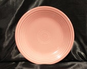 Vtg Fiesta Rose Pink 7 1 4 quot Salad Plate, Various Date Codes Available