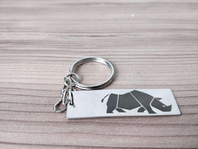 Custom Keychain Personalized Keychain Writing Keychain Engraved Keychain Mens Monogram Keychain Gift for Boyfriend Gift for Husband