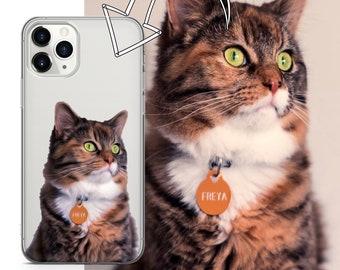 Samsung 8 9 S10 S9 S20 S8 For iPhone 12 11 Pro 5 6 7 8 X XS XR SE Plus Huawei Dog Portrait from Photo Phone Case Custom Pet Portrait