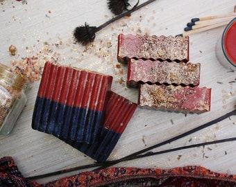 Ritual: Nag Champa, Frankincense and Patchouli Handmade Glycerin Soap