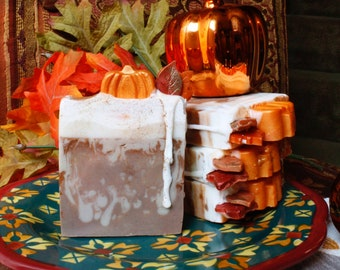 P. S. L. : Pumpkin Spice Latte Glycerin Soap - The Halloween Collection