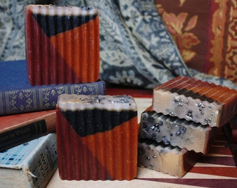 Warlocks of Yore: Tobacco and Caramel Handmade Glycerin Soap - The Halloween Collection