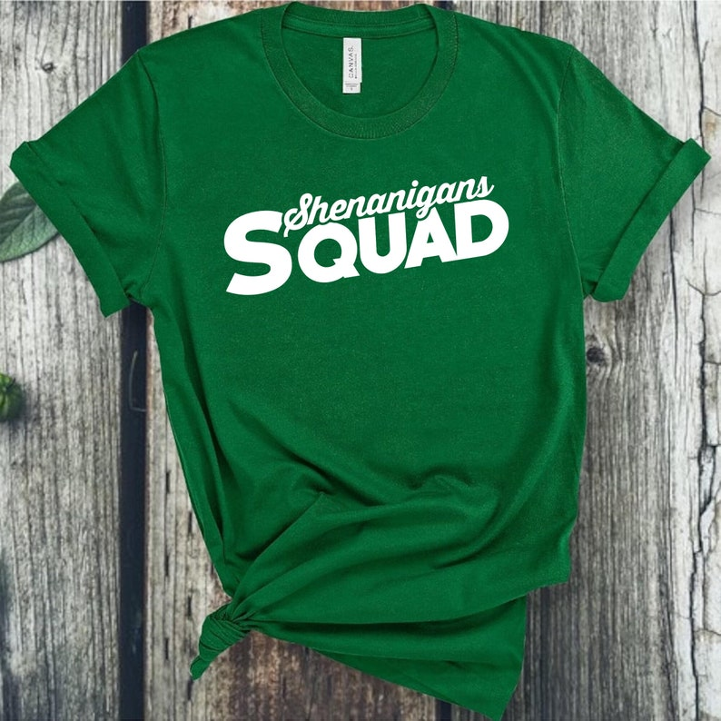 Let/'s Day Drink Drinking Shirts Lucky Top Matching St Patricks Day TShirts St Patrick/'s Day T-Shirt Irish Tee Shenanigans Squad Shirt