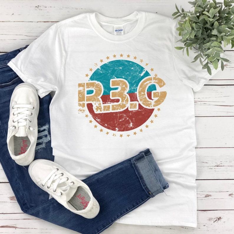 Ruth Bader Ginsburg Tee Girl Power Tee Shirt Feminism Feminist Gift Women Empowerment Retro RBG Shirt Grl Pwr Notorious RBG T-Shirt