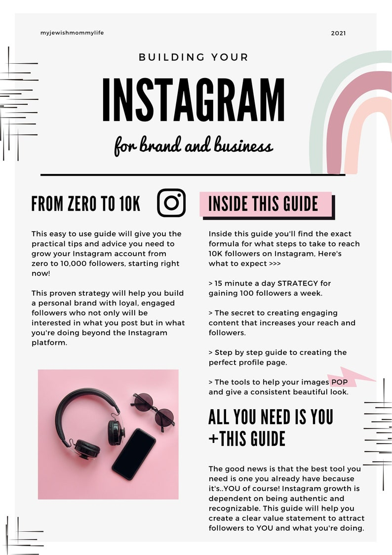The Instagram Growth Builder from ZERO to 10K image 0
