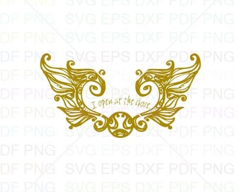 Snitch Opening Svg Dxf Eps Pdf Png, Cricut, Cutting file, Vector, Clipart