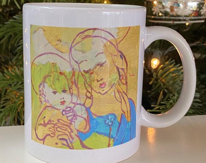 Madonna Mug for Christmas