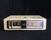 Vintage Flip Clock Radio and Alarm, Fully Working