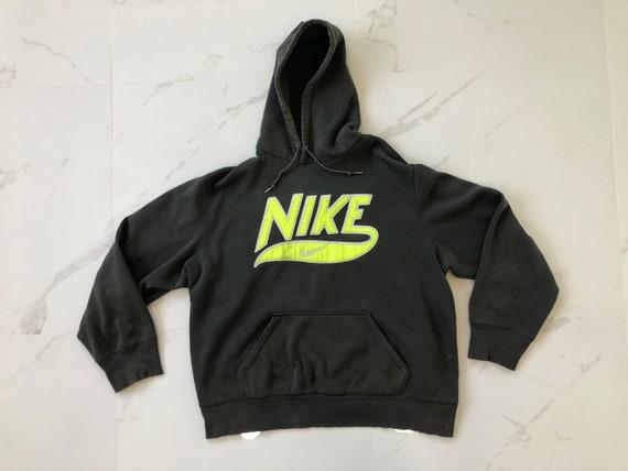 Nike Neon Logo Hoodie