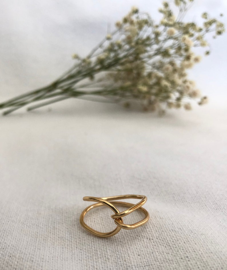 Unique Geometric Ring Handmade