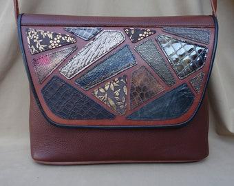 Shoulder bag Gerda brown