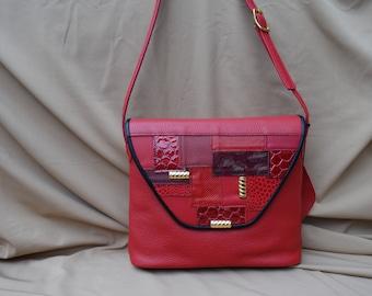 Shoulder bag Gerdi red
