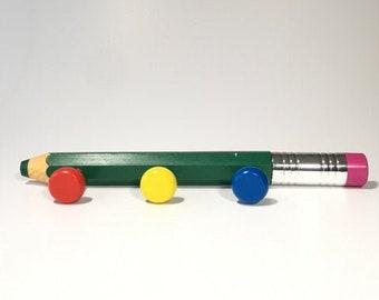Vintage wardrobe for kids pencil rainbow