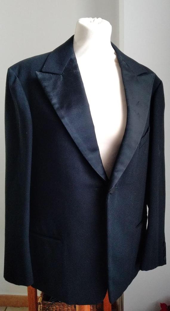 Antique black tuxedo jacket