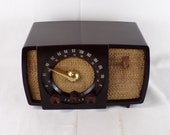 1951 Zenith AM FM Bands Radio Restored and Working. FREE Shipping