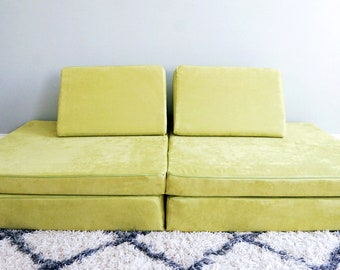 Wasabi   Nugget Couch Cover Set