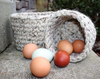 Nesting Basket Set, Rustic Farmhouse Basket, Storage Basket, Stacking Baskets, Catch All Baskets, Gifts for the Home, Rustic Baskets, Basket