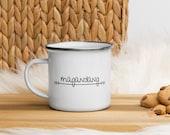Magandang umaga - Good morning - Tagalog - Filipino gift - Philippines Enamel Mug